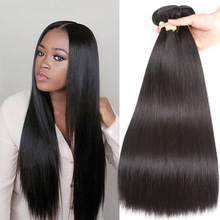Beaudiva Peruvian Hair Bundles Straight Hair 3Pcs mye Straight Hair Bundles 100% Human Hair Weave Remy 8-26inch