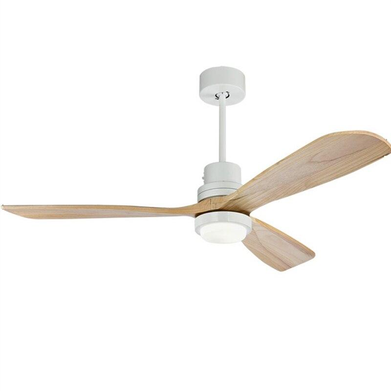 52 Inch Wooden Blades Retro Ceiling Fan