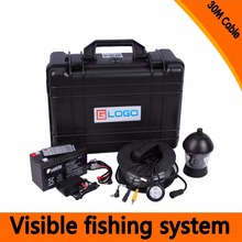 (1 Set) 30M Cable 360 Degree Rotative camera with 7inch TFT-LCD Display and HD 1000 TVL line Underwater Fishing Camera system