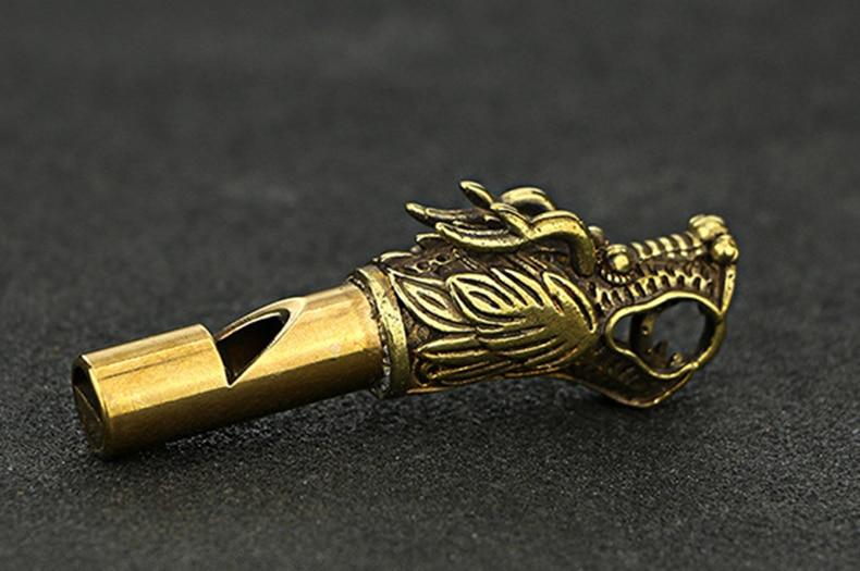 Whistle Key Chain Copper  (12)