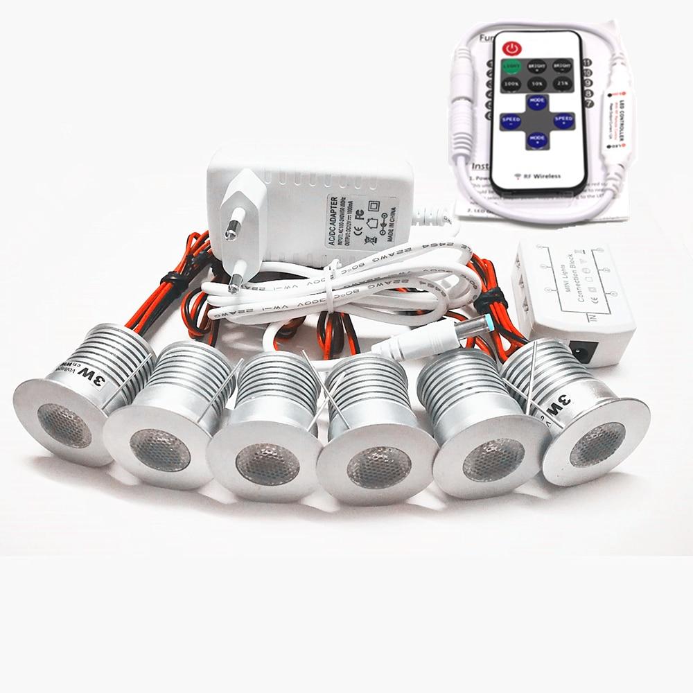 Sous meuble lumière LED plafonniers AC100-240V vitrine cuisine spot Dimmable comptoir escalier intérieur décoratif lumières