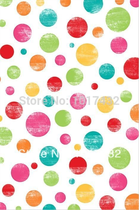 8X10FT(2.5X3M) art fabric backdrops photography background printed with colorful polka dots for photo studio newborn Z-11 5x7ft vinyl photography backdrops digital printed art fabric wood floor 760 for newborn photo studio backgroud