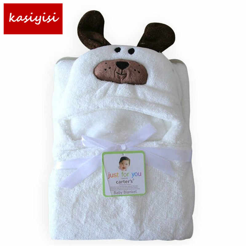 15styles 3D Baby Blankets Neonatal  Flannel Hooded Blanket Swaddling For Toddlers Infant Envelope For Newborns Hooded Bath