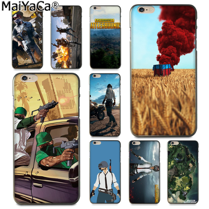 MaiYaCa BATTLEGROUNDS Jedi survival game New Arrival Fashion phone case cover for Apple iPhone 8 7 6 6S Plus X 5 5S SE 5C Cover