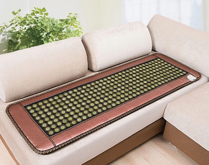 NEW ARRIVAL, FREE SHIPPING, NICE GIFT, Healthcare Thermal Jade Mattress with Far-infrared Function As seen on TV 2016 free shipping tourmaline bed mattress heating health mattress far infrared thermal 1 2 1 9m 220v as seen on tv