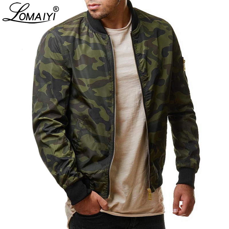LOMAIYI Big Size 7XL Men's Spring Bomber Jacket Men Autumn Camouflage Jackets Male Military Coats Mens Camo Windbreaker BM303