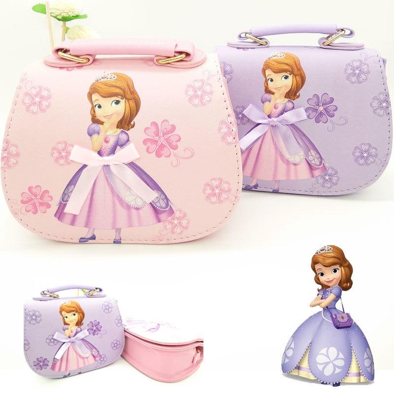 Doll accessories bag girls Messenger bag Disney little Princess Sofia shoes Korean fashion shoulder bag accessories цены