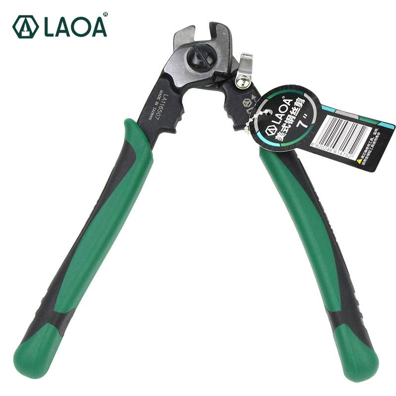 LAOA LA116507 7 Pouce Fil Corde Cut Ciseaux Cutters Multifonction Américain Type CR-MO
