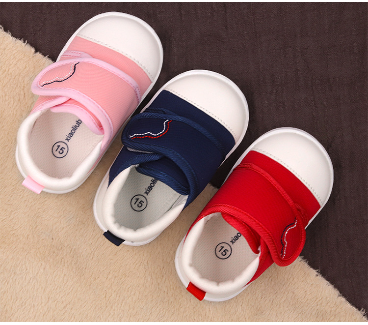 Spring Newest Baby First Walkers Shoes Breathable Autumn Canvas Boys Girls Infant Soft Sole Anti-slippery Warm Toddler Shoes (13)