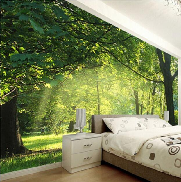 Custom Photo Wallpaper 3d Natural Scenery Wall Decorations Living Room Bedroom Wallpaper Wall Mural Wall Papers Home Decor Mural Buy At The Price Of 6 04 In Aliexpress Com Imall Com