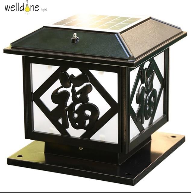 Led solar energy saving floor lamp for garden waterproof gold led solar energy saving floor lamp for garden waterproof goldblack color creative lighting mozeypictures Gallery