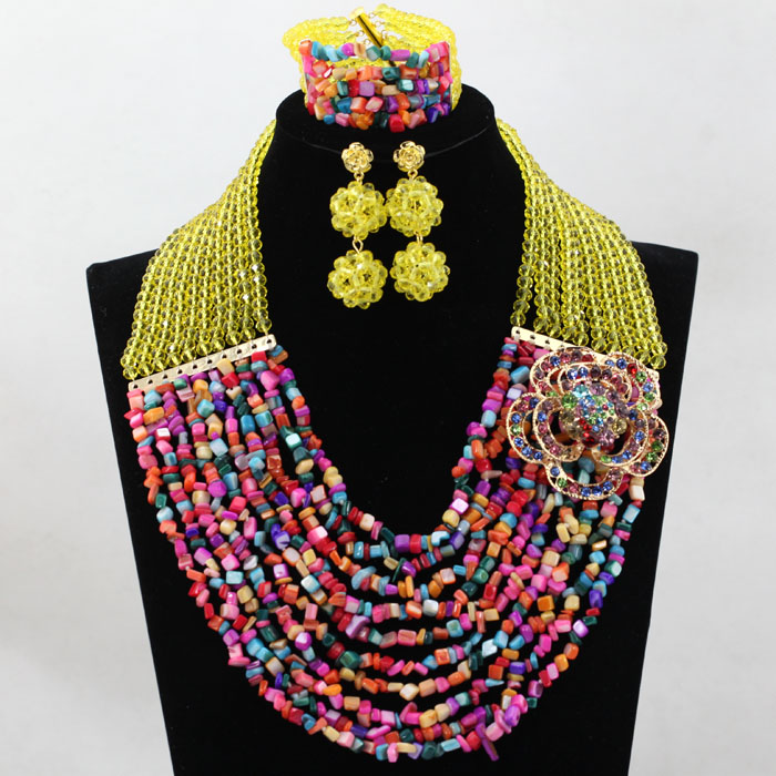 Fantastic Yellow African Coral Beads Wedding Jewelry Set Dubai Gold Bridal Beads Necklace Set HX758Fantastic Yellow African Coral Beads Wedding Jewelry Set Dubai Gold Bridal Beads Necklace Set HX758