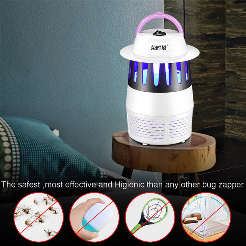 Mosquito Killer Lamps Confident Muqgew 14x14x22cm Abs Electric Insect Mosquito Killer Usb Led Uv Trap Lamp Fly Bug Pest Control Summer Portable Aromatherapy Easy To Repair