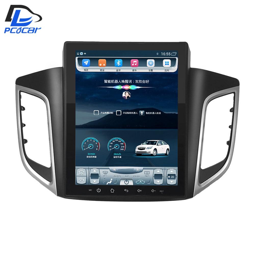 32G ROM Vertical screen android car gps multimedia video radio player in dash for hyundai IX25 car navigaton