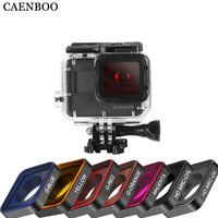 CAENBOO Action Camera Filters For GoPro Hero 5 6 WaterProof Filter UV CPL ND Color Filters