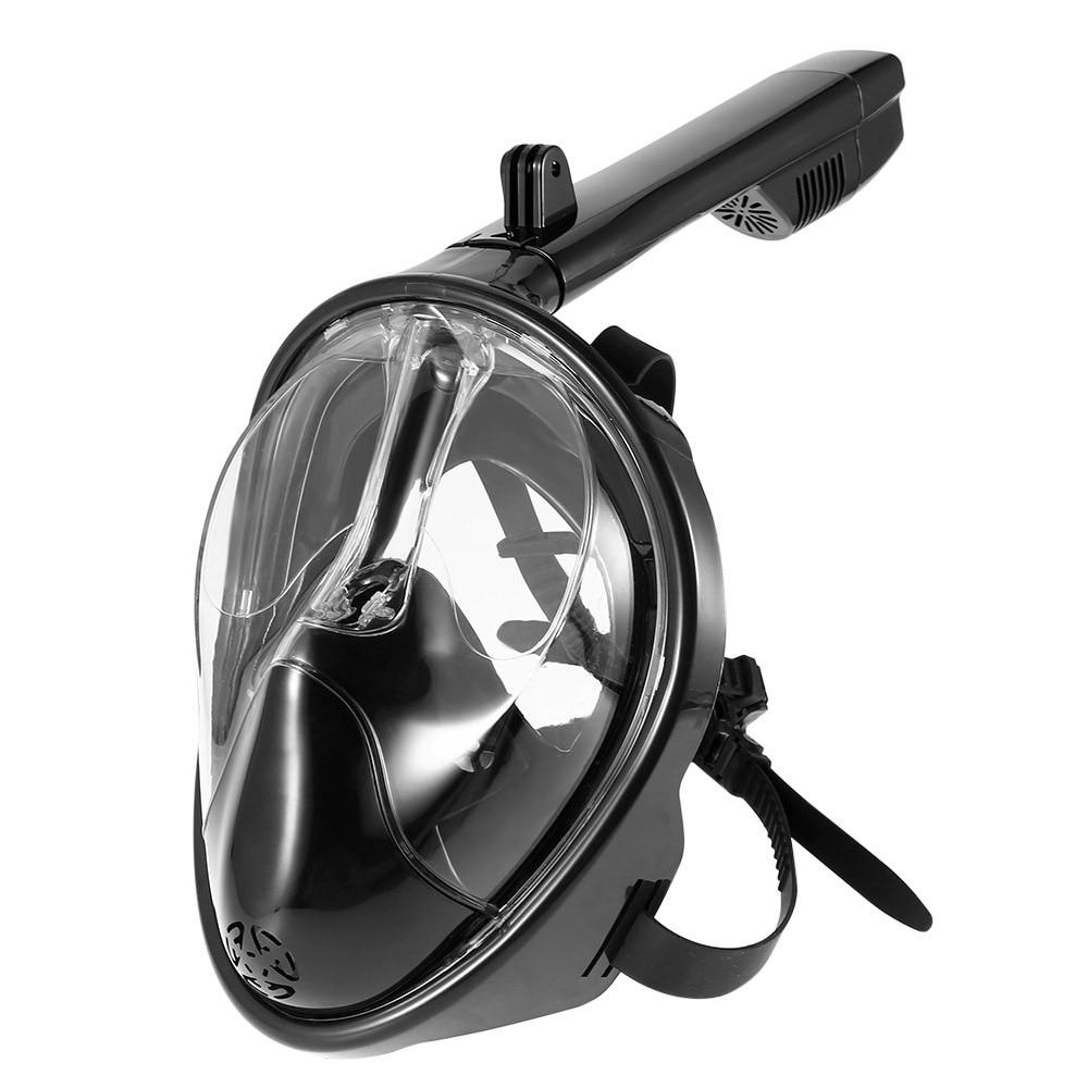 Plein Visage Plongée En Apnée Masque Ensemble Plongée Sous-Marine De Natation Formation Plongée Mergulho Snorkeling Masque Pour Gopro Caméra