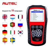 Autel AL619 ABS/SRS OBD2 Scanner Car Diagnosic Tool One Click OBDII Scanner Car Code Reader Scanner Automotive Diagnostic Tool