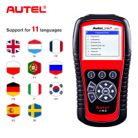 Autel AL619 ABS/SRS OBD2 Scanner Car Diagnosic Tool One Click OBDII Scanner Car Code Reader Scanner Automotive Diagnostic Tool