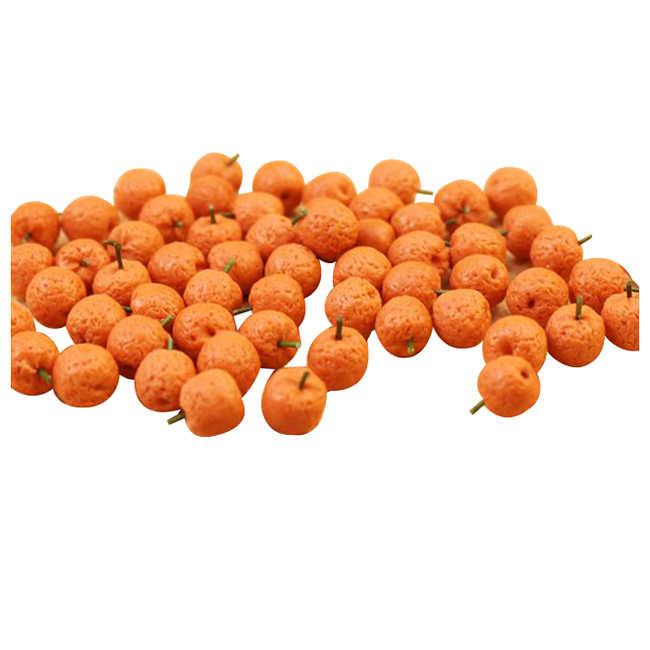10 шт. кукольный домик Миниатюрная модель Имитация Поддельные фрукты кухонный Декор подарок 1/12 оранжевый