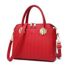 Alta qualidade pu bolsa de mulher bolsa de hardware. o envio gratuito de 2017 nova cor sólida bolsa de ombro negócio. moda saco de cor sólida.