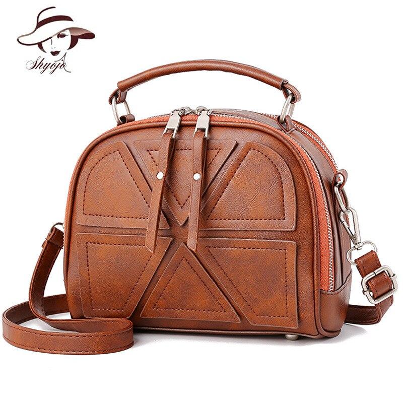 b5eb230148 Femminile Donne Shoulder Borsa Progettista Borse Bags Retrò Modo Di Black  gray Lusso Bag Pelle pink ...