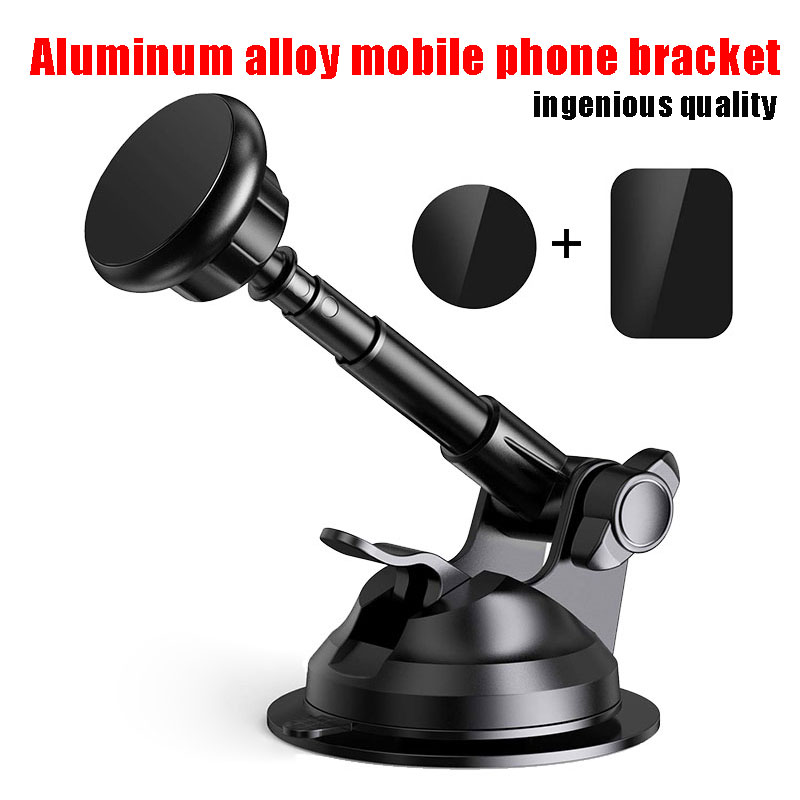 Universal Car Phone Holder For Car Windshield Dashboard Mount With Cradle Magnetic Phone Holder For IPhone XR/8//7/Plus Samsung