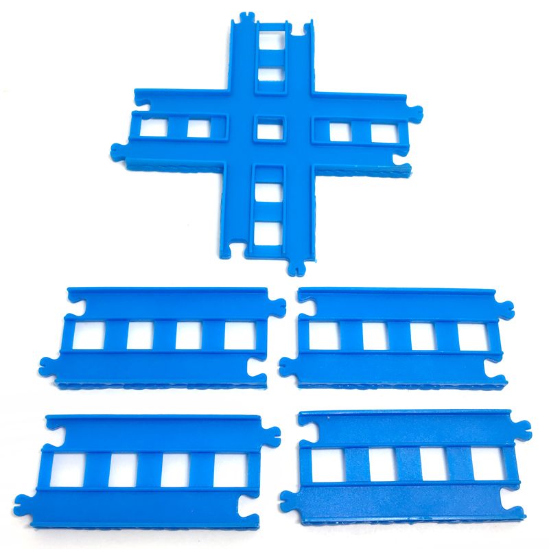p079 Free Shipping New Cross Track Thomas Electric Series Combination Track Accessories Children Puzzle Track Assembling Game