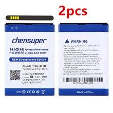 2pcs/4900mAh BL-48TH BL-47TH Battery for LG F240/K E980 E988 E940 F310 D684 F240S F240L Pro 2 F350/S/L/K D837 D838 Battery