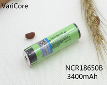 VariCore New Original NCR18650B 3.7 V 3400 mAh +protection 18650 rechargeable lithium battery with PCB Flashlight battery