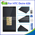 Черный Оригинальный ЖК-Дисплей + Сенсорный Экран Digitizer Ассамблеи Запасные Части Для HTC Desire 626 626 T 626D 626 Г 626 Вт + инструменты
