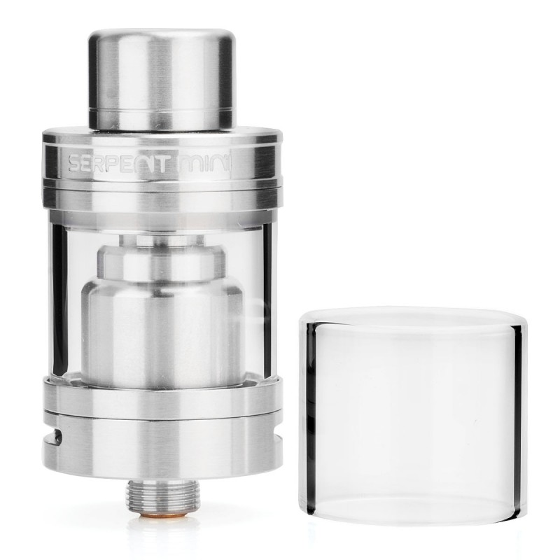 все цены на Original Wotofo Serpent Mini RTA 22 3ml 22mm Single Coil Top Filling Rebuildable Tank Atomizer for Mechanical Mod / VW Vape Mod онлайн