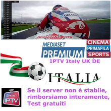 IPTV Abbonamento Iptv Italia UK Tedesco Francese Spagnolo Mediaset M3u Premium Per Android Box Enigma2 Smart TV PC Linux(China)