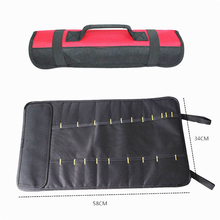 New Spanner Wrench Roll Up Socket Storage Bag Hand Tool Organizer Pouch 58*34cm