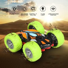 2019 Create Toys 8031 1/48 RC Stunt Car 2.4G Double-sided Flip 360 Rotation Off-road Climbing Racing for Kids gift Buggy