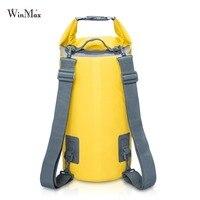 Winmax Outdoor Waterproof Dry Bag Backpack Sack Storage Bag Rafting Sports Kayaking Canoeing Swimming Bags Travel