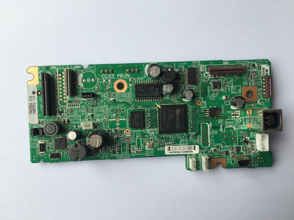 Main board cc03 main for Epson workforce xp-400 xp 400 xp400 printer ciss for epson xp 342 xp 432 xp 235 xp 332 xp 335 xp 435 xp235 printer empty for epson t2991 t2992 with arc chips