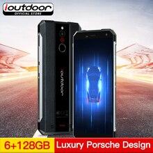 Ioutdoor X IP68 NFC güçlendirilmiş akıllı telefon 5.7 Inç Android 8.1 6 GB 128 GB Çift Arka Kameralar Su Geçirmez Darbeye Dayanı...