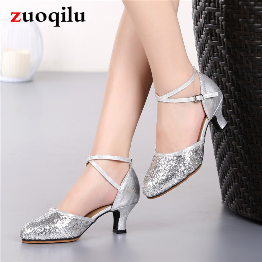 19 Chaussure Femme Talon Pumps Women Shoes Gold Silver Party Wedding Shoes Bride Women's Shoes With Heels Sapatos Feminino #568F