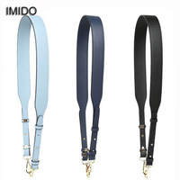 Imido 4Cm Wide Long Bag Strap For Handbags Women Replacement Straps Single Shoulder Belt Accessories Parts Solid Leather Stp080