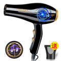 New 2000W Black Hair Dryer Anion Ionic Fast Styling Blow Dryer AC Motor Professional-salon-products