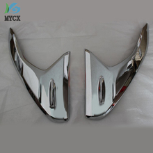 2017 For toyota hilux SR5 accessories head lights chrome decorative trim For toyota hilux revo 2015 2016 plate toyota hilux part