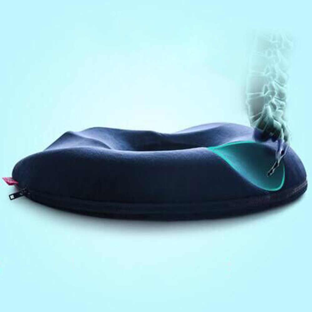 45*41*7cm Ortopédico Memória Da Espuma Do Assento Almofada coussin Almofada cojines Ajuda Com A Dor Ciática Dor Nas Costas Para cadeira de Escritório em casa Uso
