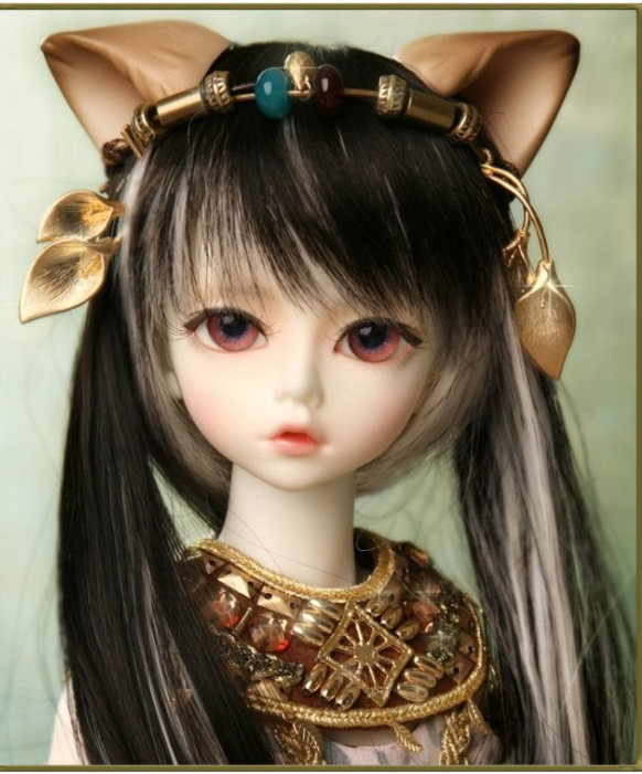 1/4 scale 43cm  BJD nude doll DIY Make up,Dress up SD doll. Soom Trond & Kivi - Deities of Cats .not included Apparel and wig 1 4 scale 43cm bjd nude doll diy make up dress up sd doll girl elena not included apparel and wig