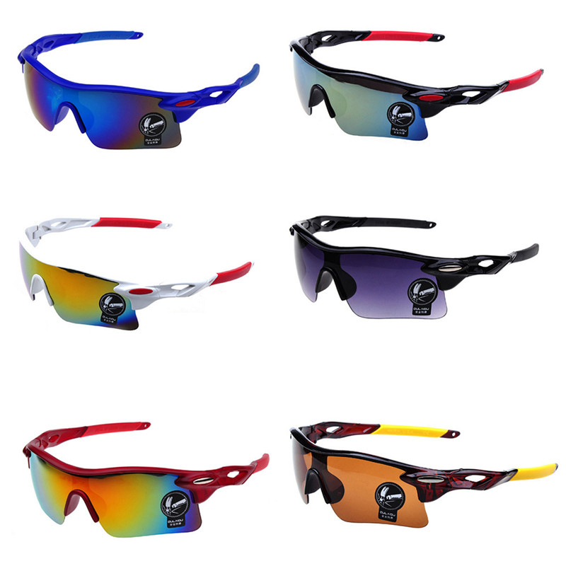 outdoor Cycling glasses sports explosion-proof sunglasses colorful windproof glasses bicycle sunglasses bicycle explosion proof glasses outdoor sun glasses yellow black