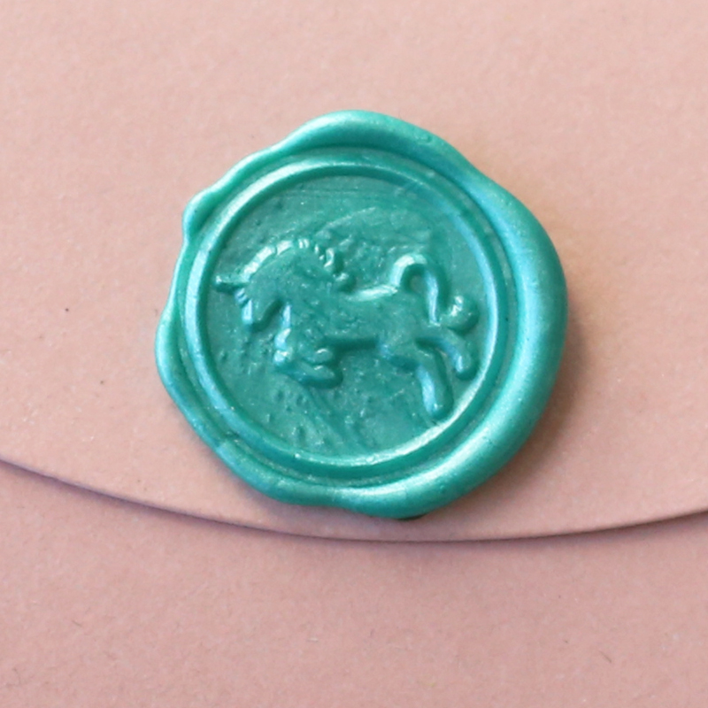 Unicorn Horse Stamp box creative wax seal stamp single wax stamp set/diy wax seal greeting gift WS053 creative wax envelope set literary romantic gift confession artifact the new year wedding gift