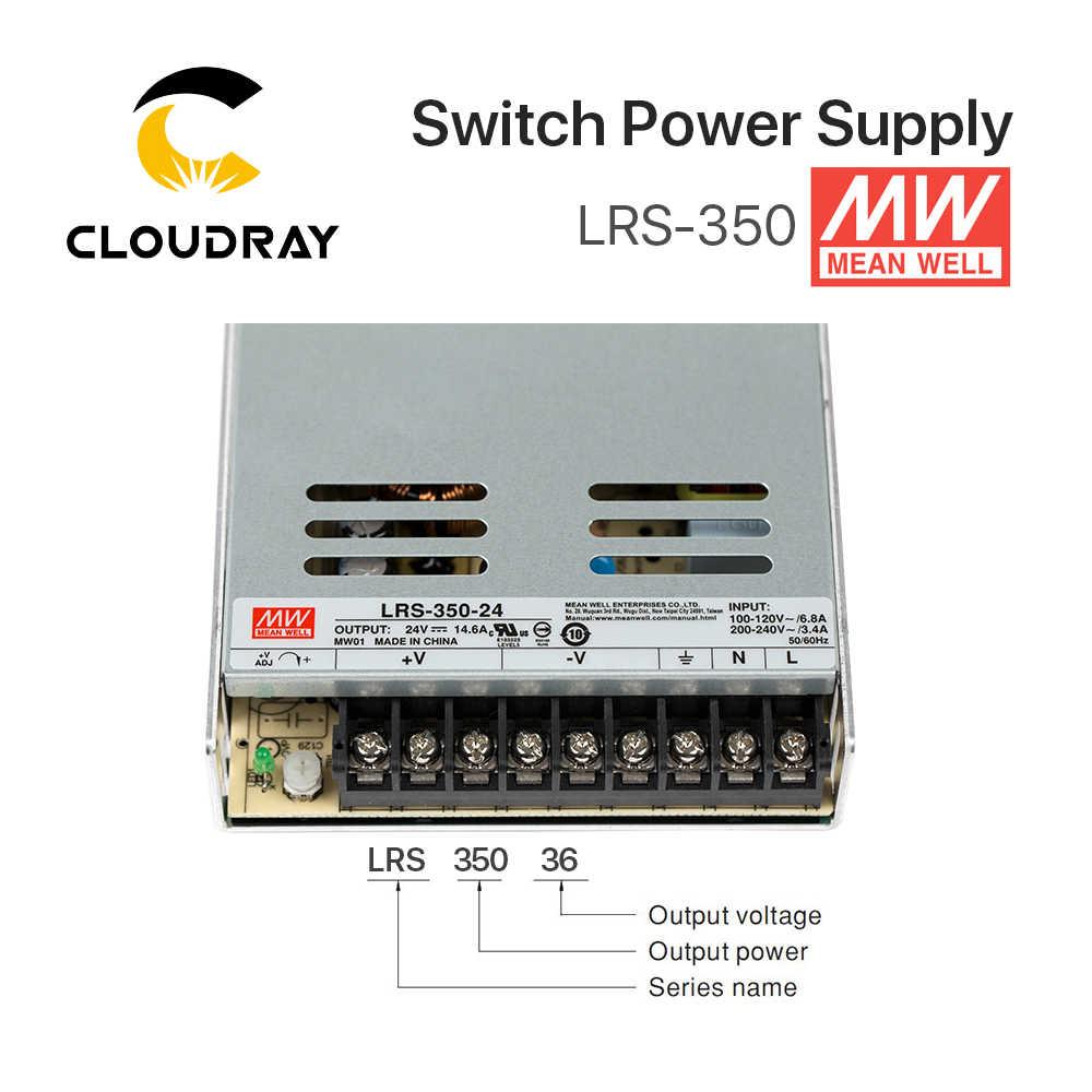 Meanwell LRS-350 Импульсные блоки питания 12 В 24 36 48 350 Вт оригинальный МВт Тайвань бренд LRS-350-24