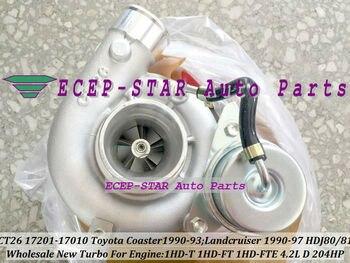 Libera La Nave CT26 17201-17010 17201 17010 Turbo Turbocompressore Per TOYOTA Landcruiser Land cruiser Coaster HDJ80 81 1HDT 1HD-FT 4.2L