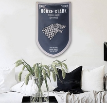 House Stark & Targaryen & Lannister Flag Banner Game of Thrones Flag Banner Home Decoration Gift 60*95cm, free shipping