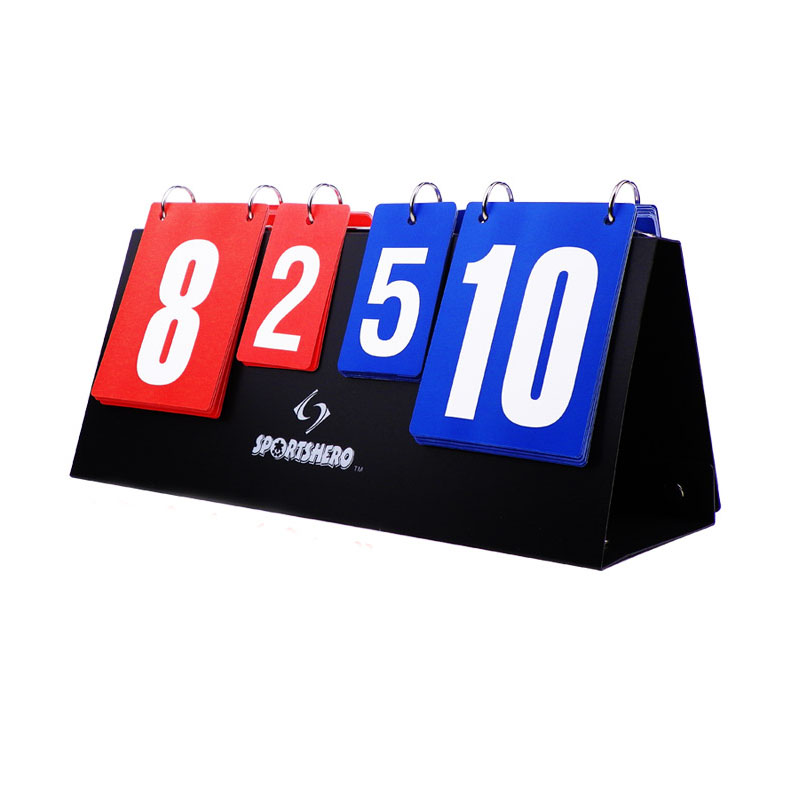Portable basketball Score board 4 digit Sports scoreboard for volleyball table tennis handball badminton scoring Wholesale