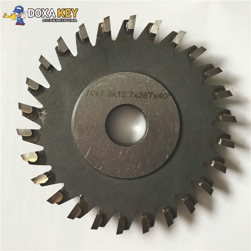 Milling Cutter 70x7 3x12 7x26T Welded Carbide Cutter For WENXING Portable Q27 100D 100G 100E Horizontal